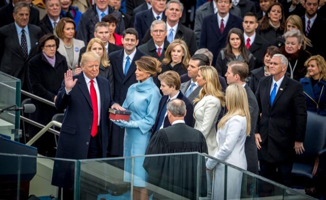 Abd'de Donald Trump Dönemi Başladı