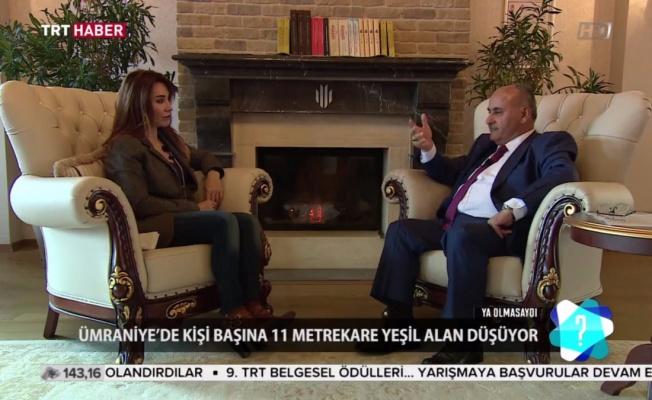 Hasan Can, TRT Haber Yayın Konuğu Oldu