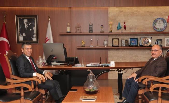 Ümraniye Yeni İlçe Emniyet Müdürü Hakan Torun Ümraniye Belediyesini Ziyaret Etti