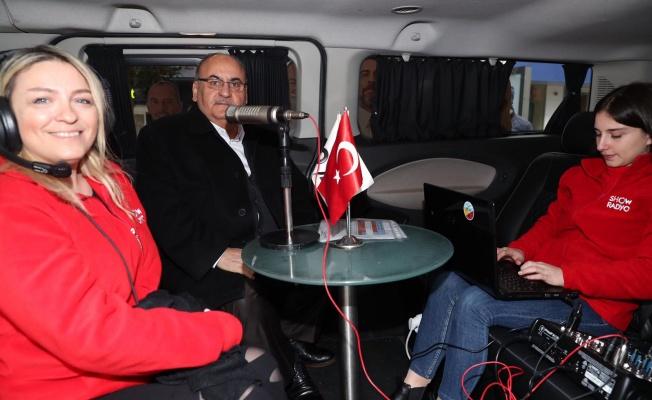 Başkan Hasan Can Show Radyo'nun Canlı Yayın Konuğu Oldu