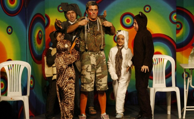 Ümraniyeli Çocukların Tiyatro Keyfi