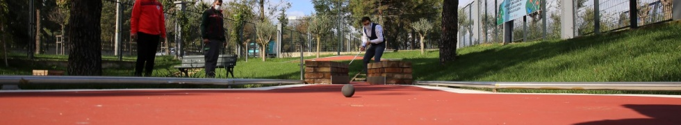 Ümraniye'de Mini Golf Turnuvası