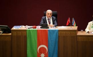 Belediye Meclisi'nden Azerbaycan'a Destek Deklarasyonu