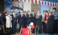 Bakan Kasapoğlu Yarı Olimpik Yüzme Havuzunun Açılışını Yaptı