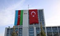 Ümraniye Belediyesinden Azerbaycana Bayraklı Destek