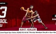 Ümraniye'de Sokak Basketbolu Heyecanı Başlıyor