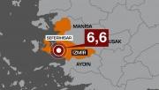 İzmir'de 6.8 Şiddetinde Deprem